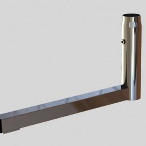 """База """"L""""-образная для трубы перфорированной арт.2215"""