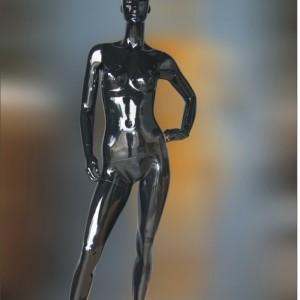 Манекен женский глянцевый (black)HAF-50