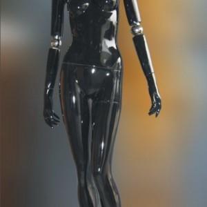 Манекен женский глянцевый (black)HZWA-B2-FHD