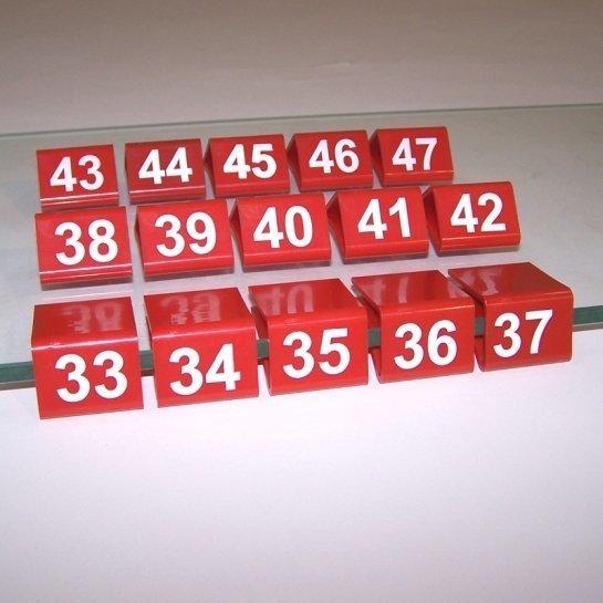 Указатели размеров для полок (взрослые) B-136