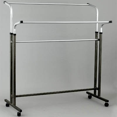 Вешало для одежды напольное двустороннее регулируемое металлическое СТ-105-Л