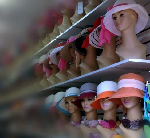 манекены головы для магазинов головных уборов