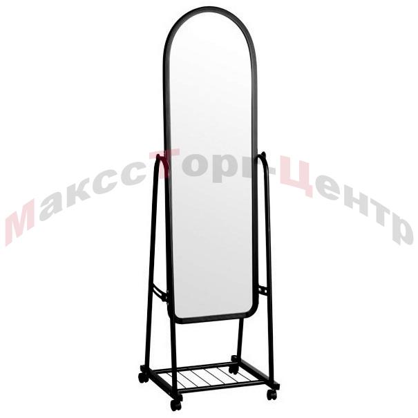 А-380Ч напольное зеркало для магазина1