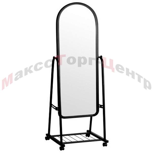 А-450Ч напольное зеркало для магазина