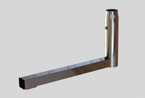 База «L»-образная для трубы перфорированной арт.2215