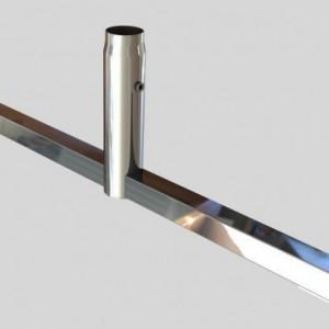 """База """"T""""-образная для трубы перфорированной арт.2215"""