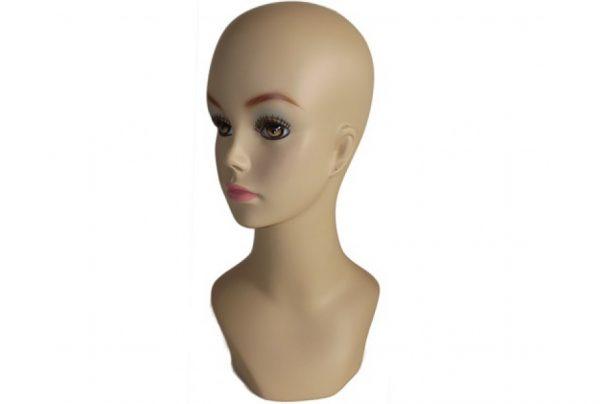 Манекен голова женская GJTF-01