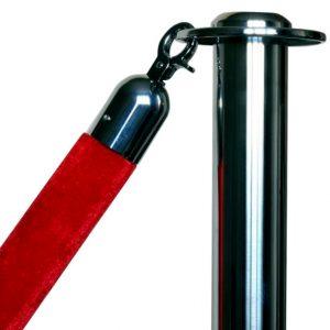 Канат бархатный красный SW-R150