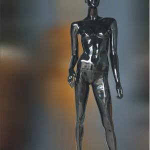 Манекен женский глянцевый (black) WА-112