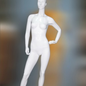 Манекен женский глянцевый (white)HAF-50