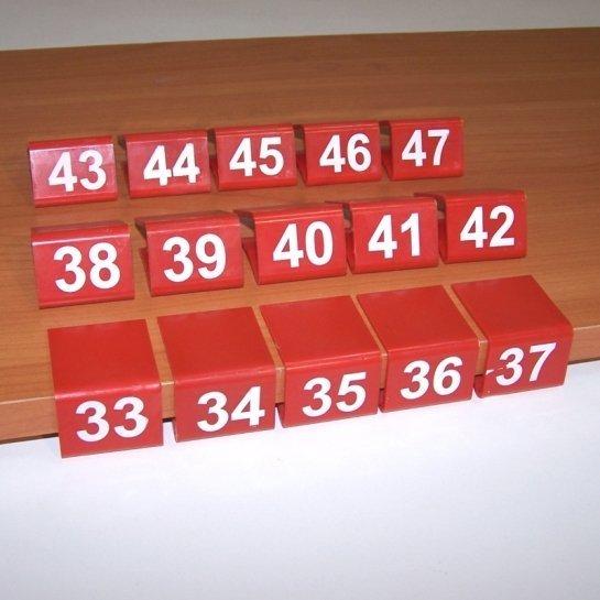 Указатели размеров для полок (взрослые) B-134