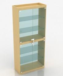 Витрина стеклянная с подсветкой В-306-С