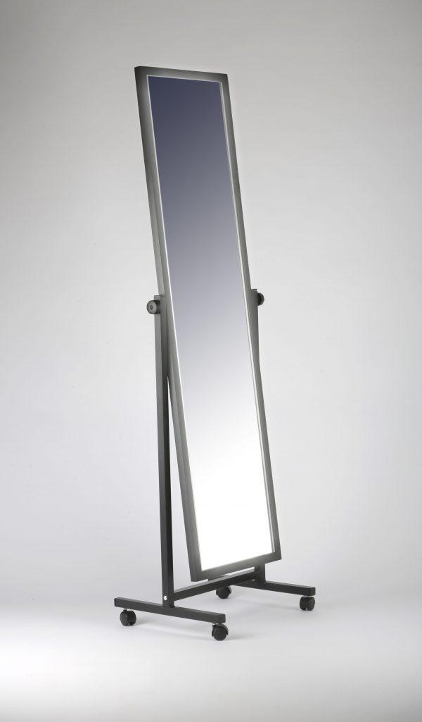 Зеркало напольное в раме на колесах ЗМ-05