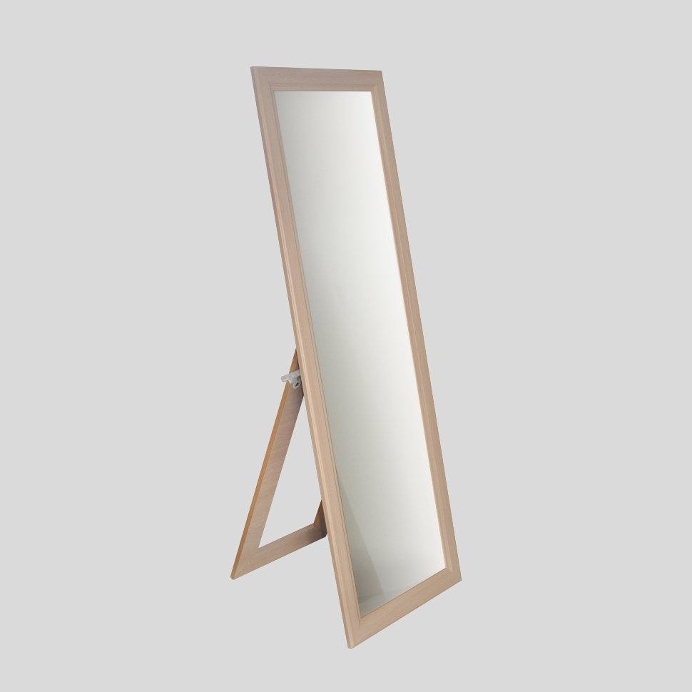 ЗМ-04 зеркало напольное цвет дуб молочный