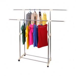 Вешала и стойки для одежды двухъярусные напольные