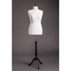 Манекен портновский женский на деревянной подставке (мягкий 50-52р.) DR-6