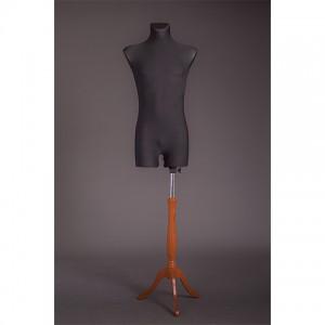 Манекен мужской портновский на деревянной подставке (мягкий 42-44р) MR-1