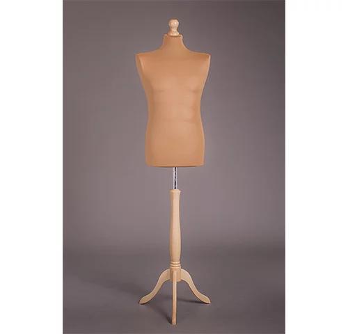 манекен на деревянной подставке