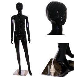 Манекен чёрный глянцевый LB-5