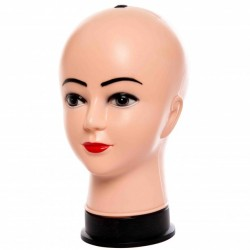 Манекен голова женская для шапок