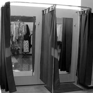 Примерочные кабины для магазина одежды