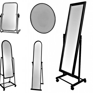 Напольные и настенные зеркала для павильона магазина