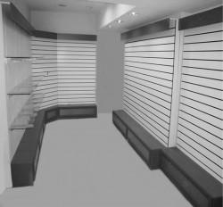 Торговые эконом-панели для магазина