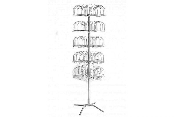 Стойка вертушка под трикотажные шапки - Гвоздика
