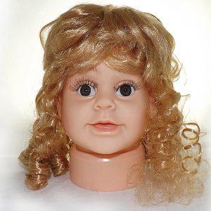 ПД-1 Манекен головы детской девочка пупс