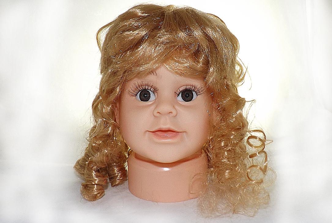 ПД-1 Манекен головы детской девочка