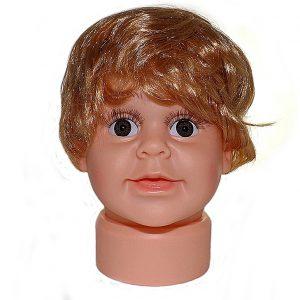 ПМ-1 Манекен головы детской мальчик пупс