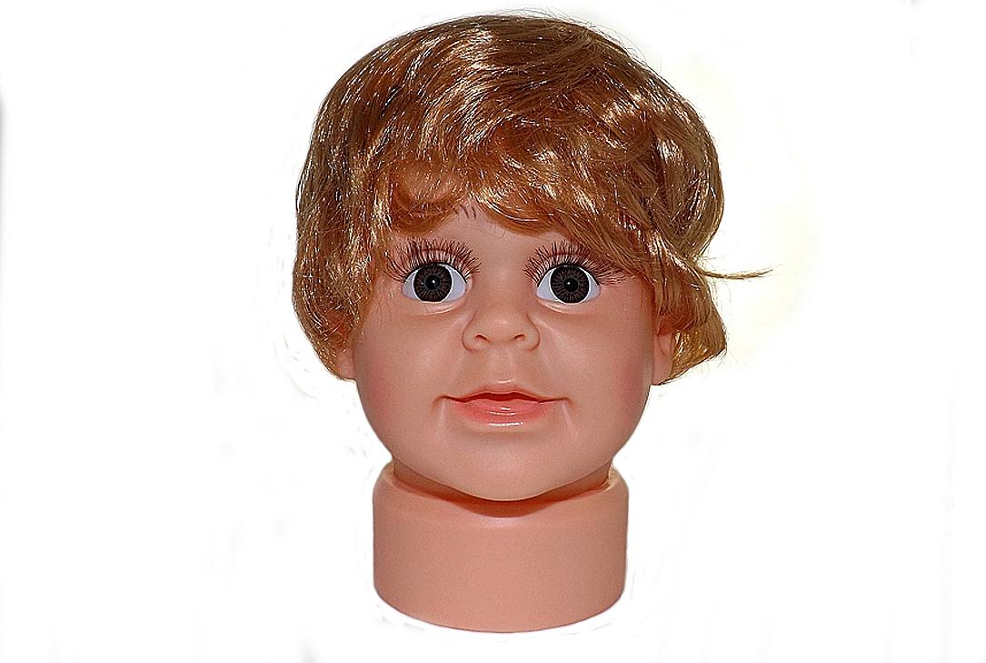 ПМ-1 Манекен головы детской мальчик