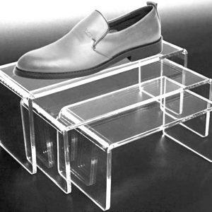 Подставки, вставки из оргстекла для обуви