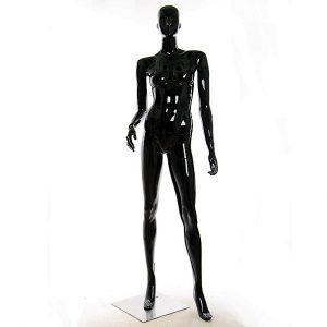WA-112(B2) манекен чёрный глянцевый