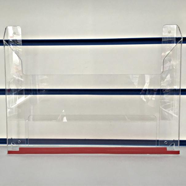 OL-100NA4 карман навесной для буклетов Формата А4