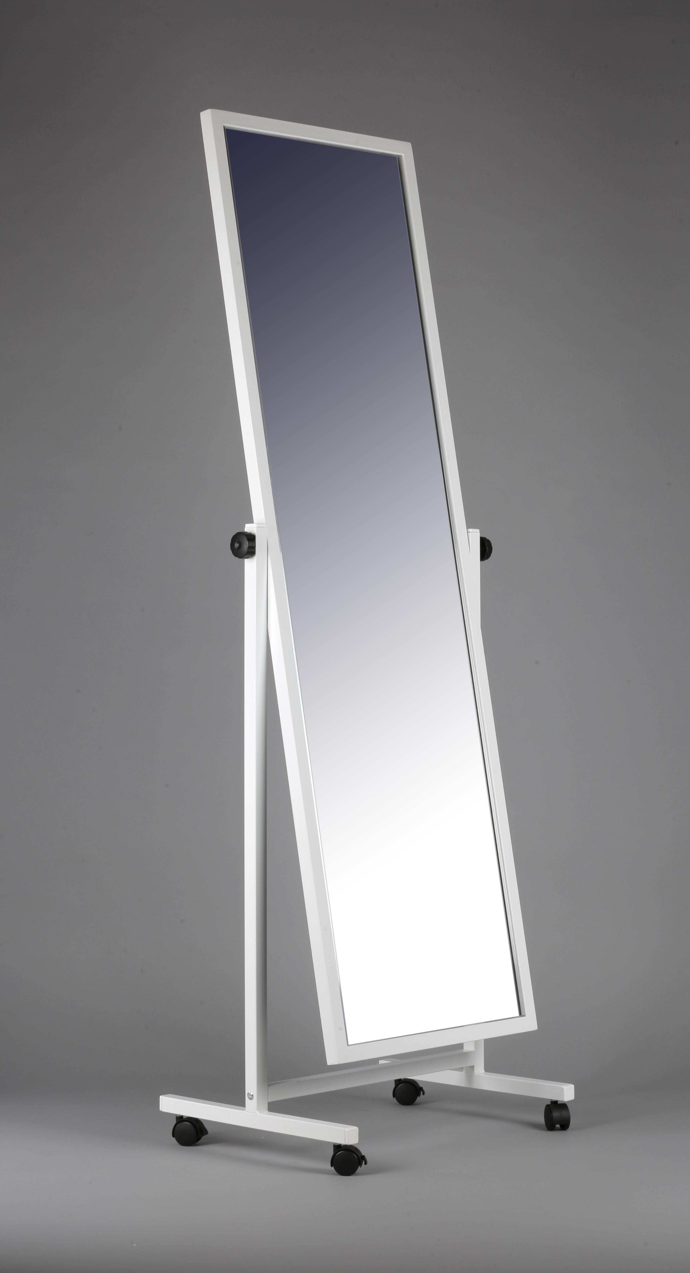 Зеркало напольное в раме на колесах ЗМ-06