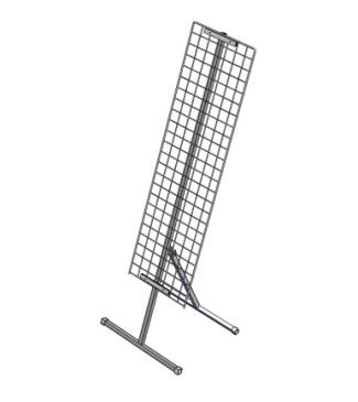 10 стойка наклонная+сетка 1200х350